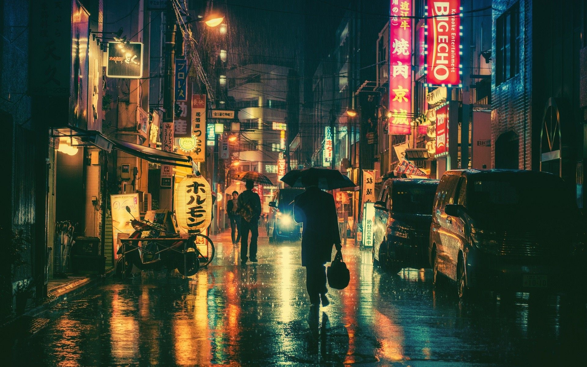 夜に燈ともし——A Japanese Poem